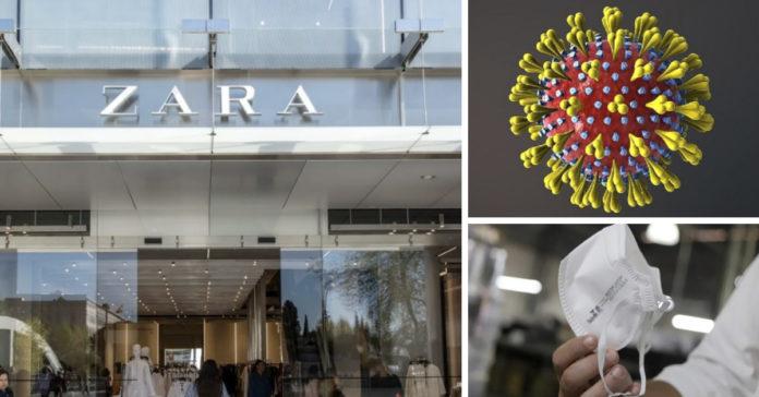 Inditex dueños de ZARA donarán máscaras para pacientes y personal médico. Se unen a la lucha contra el coronavirus