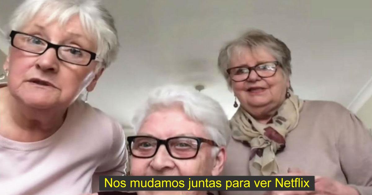 3 Amigas se mudaron juntas para pasar la cuarentena viendo Netflix y tomando vino