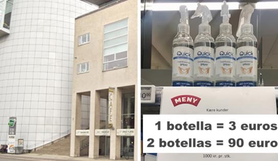 El brillante truco de este supermercado para evitar que las personas acaparen los desinfectantes de manos