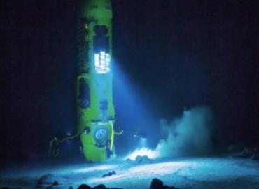 Submarino ruso logra sumergirse hasta lo más profundo del océano