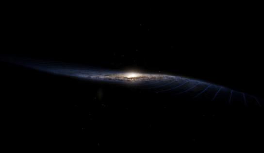 Algo está deformando la Vía Láctea y los científicos encontraron qué lo provoca