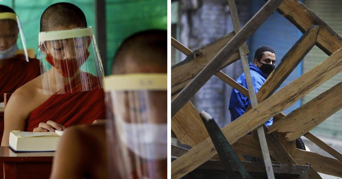 26 impactantes imágenes que muestran cómo la humanidad se adapta a la pandemia