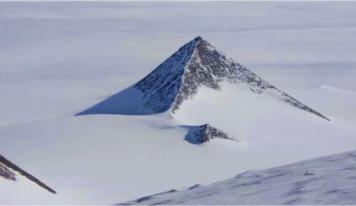 Descubren una extraña pirámide en la Antártida y desata todo tipo de conspiraciones