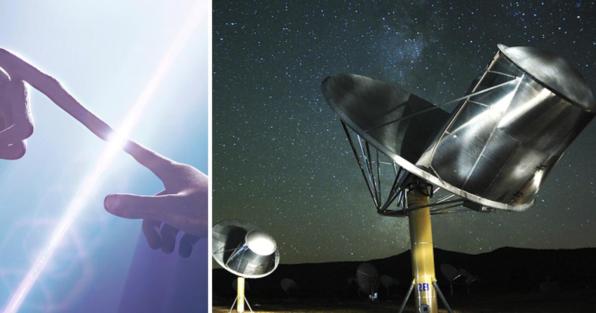 ¡Contacto! científicos detectan potente señal de radio en nuestra galaxia