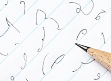 Esta rara manera de escribir se usaba para tomar notas más fácil ¿La reconoces?
