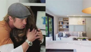 Brad Pitt  decide sorprender a su maquillista de toda la vida dándole 'la casa de sus sueños'