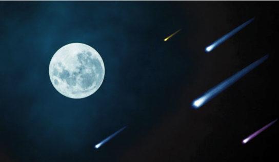 Ojo: Este 7 de mayo habrá luna llena y lluvia de estrellas, restos del cometa Halley
