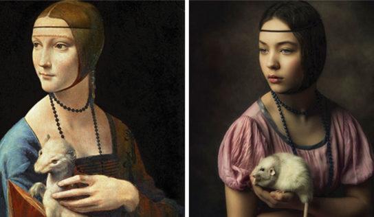 Museo desafía a la gente a recrear pinturas famosas desde casa. Mira el divertido resultado 25 fotos