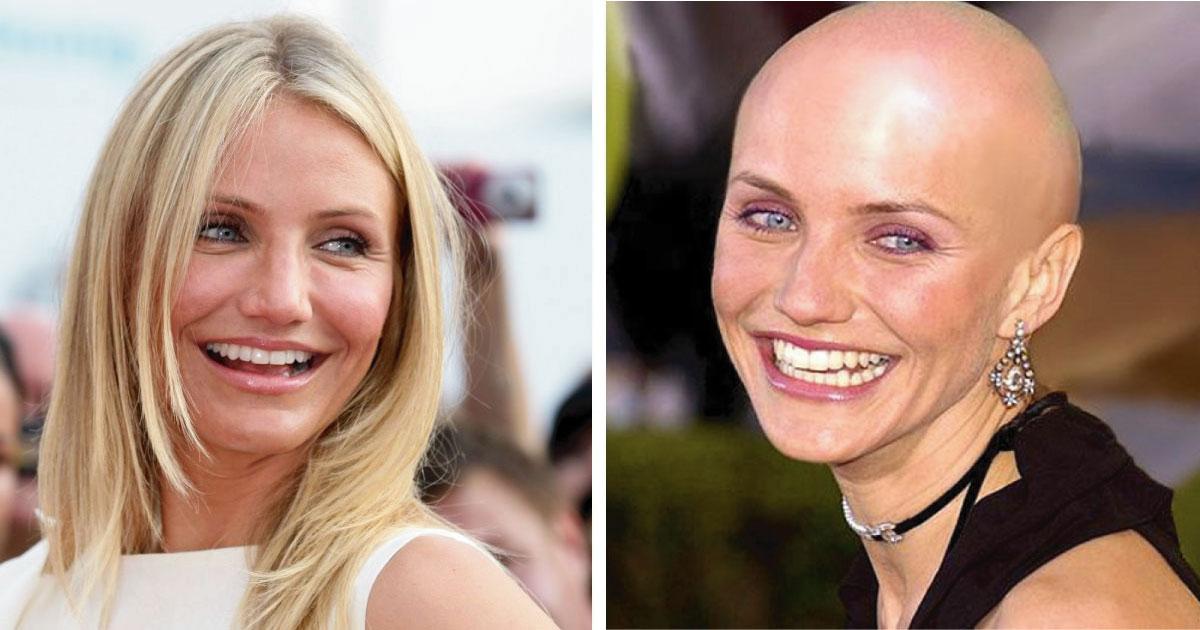 12 famosas que se afeitaron la cabeza para una gran película