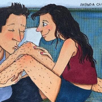 17 ilustraciones que demuestran perfectamente lo que es el verdadero amor
