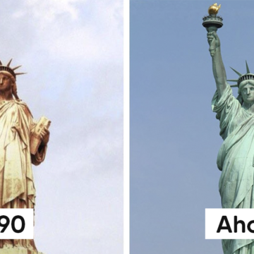 Así lucían estos 7 lugares turísticos mundialmente conocidos en la antiguedad