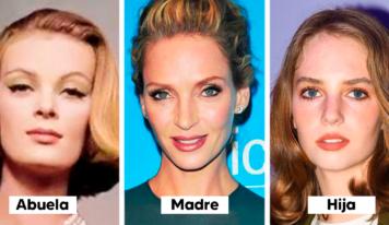 12 dinastías de celebridades cuyas hijas han evolucionado hacia la perfección