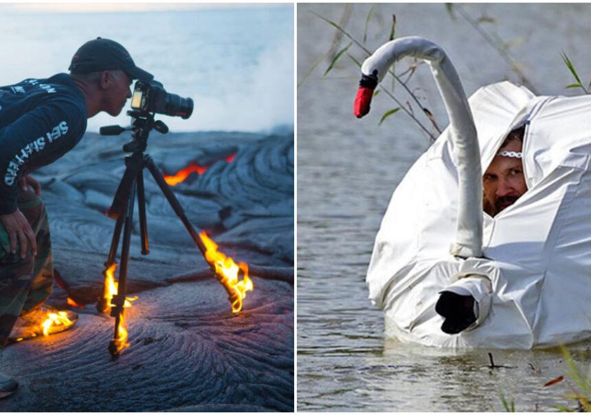 15 Fotógrafos de National Geographic que harían todo por la toma perfecta