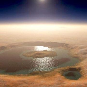 Científicos descubren lagos de agua LÍQUIDA en el polo sur de Marte