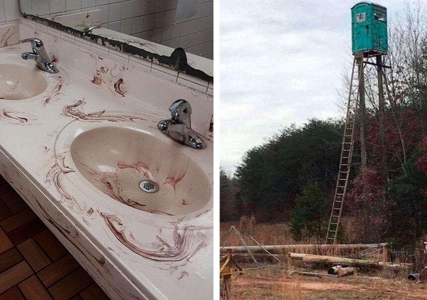 20 Baños que no creerías que existen si no fuera porque alguien les tomó una foto