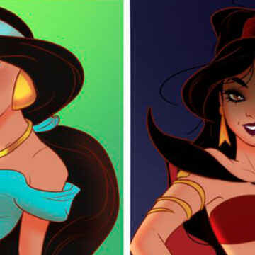 Así se verían las14 princesas de Disney si fueran las villanas de sus películas