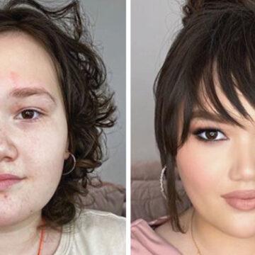 17 Mujeres que con un buen maquillaje parecen una persona totalmente distinta