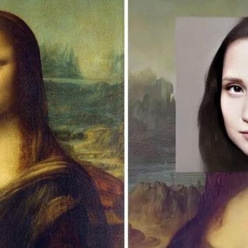 7 famosos cuadros convertidos en personas reales con inteligencia artificial