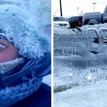 25 Imágenes que revelan lo que es realmente pasar frío