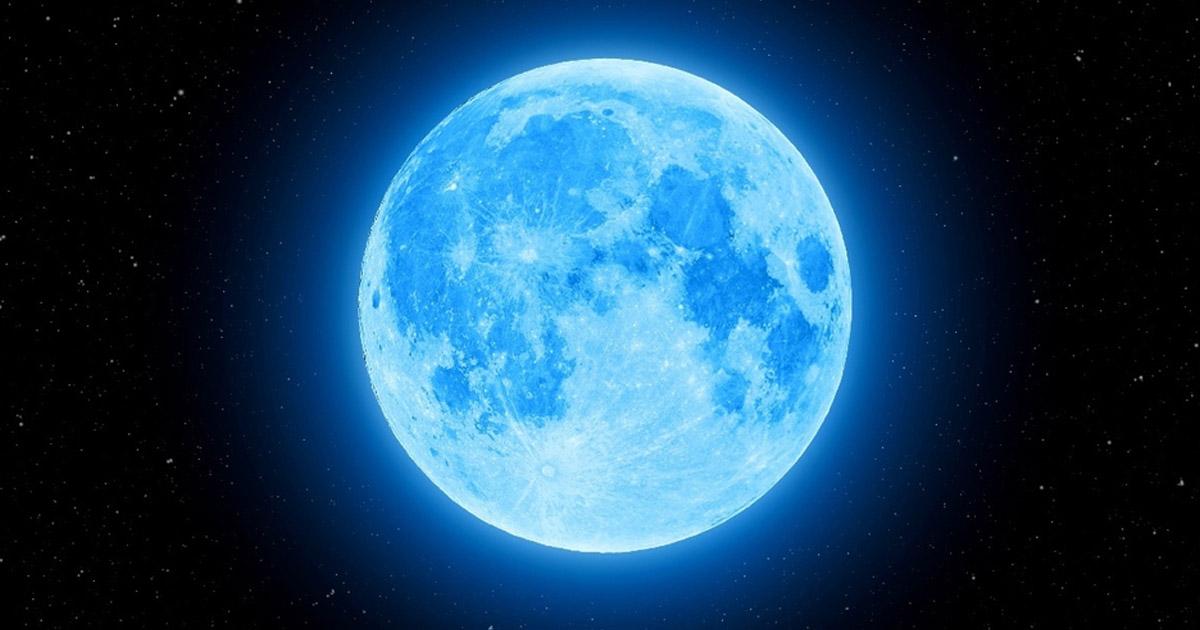 La luna azul que iluminará la noche de Halloween