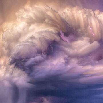 La NASA capta la formación completa de una tormenta eléctrica en una sola imagen