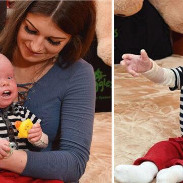 Una mujer que ama a su hijo a pesar de su condición física y le toca lidiar con la sociedad