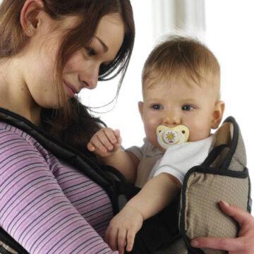 Conoce los 5 beneficios de usar el porta bebés