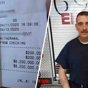 Recibió dinero de una ayuda económica por 1.700 dólares y al revisar su cuenta bancaria tenía 8.2 millones