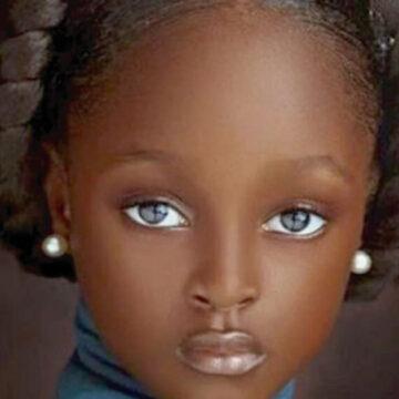 """Tiene solo 5 años de edad y ya la consideran la niña """"más hermosa del mundo"""""""