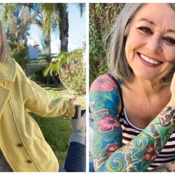 A sus 56 años se vuelve viral en TikTok y la critican por 'ser bastante mayor y vestir como adolescente'
