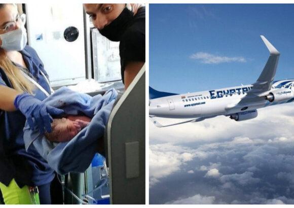 Mujer da a luz en pleno vuelo y la aerolínea decide regalarle pasajes gratis de por vida al pequeño