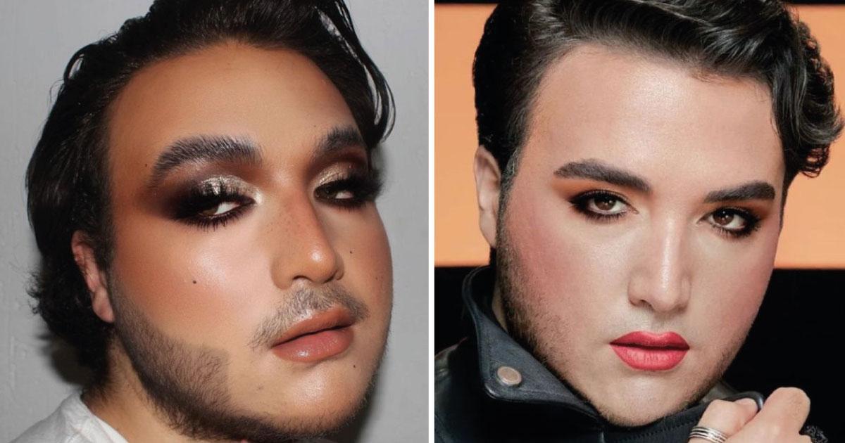 Avon rompe estereotipos y lanza maquillaje para hombres. Lucen muy bien