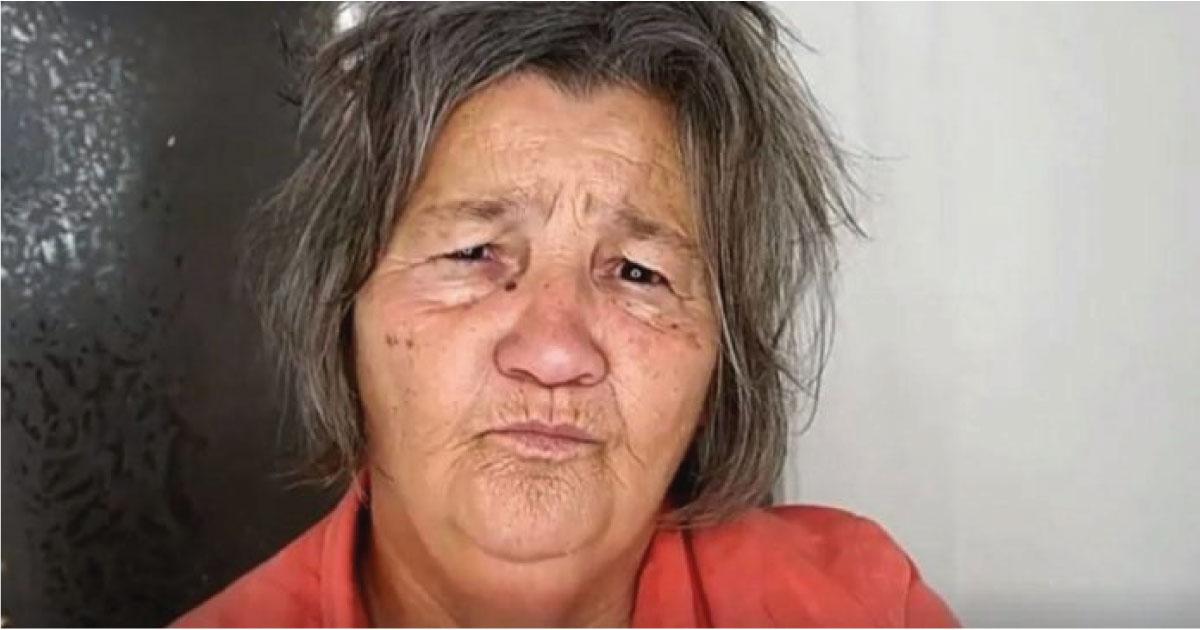 Su nieta es maquilladora profesional y a sus 70 años le regaló un hermoso cambio de look
