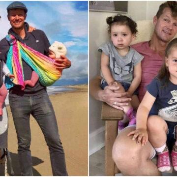 Legalizan la adopción gay y se convierten en la primera pareja homosexual en ser padres de trilliza