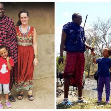 Alemana llegó a Tanzania por su trabajo y encontró el amor. Ya tiene 9 años formando parte de la tribu