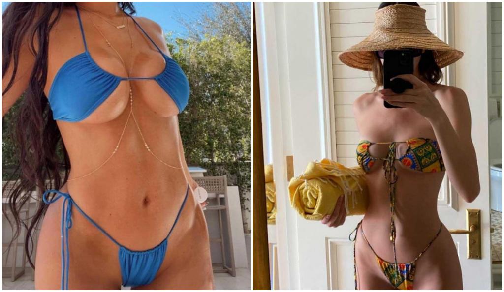 La manera en que Kylie Jenner muestra sus senos de una forma sensual pero sin verse vulgar