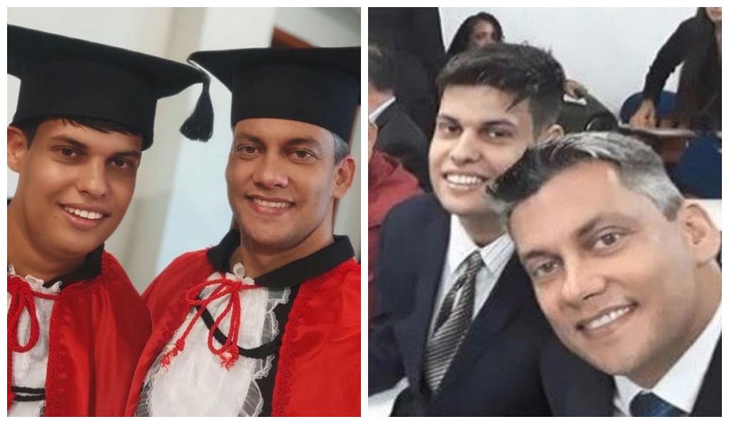 Padre decide estudiar Derecho para apoyar y acompañar a su hijo Asperger. Ambos lograron graduarse