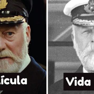 """Así se veían estos 18 personajes de la película """"Titanic"""" en la vida real"""