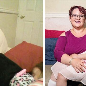 Madre ha amantado a su hija hasta los 9 años para fortalecer su vínculo familiar
