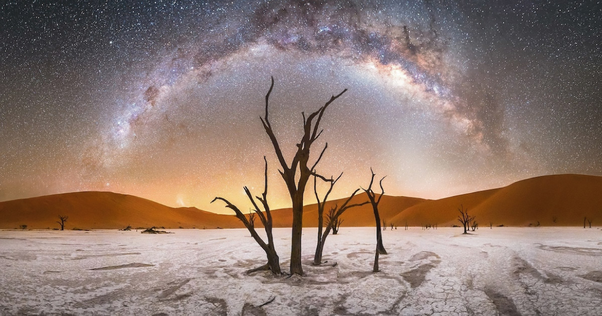 Las mejores fotos de la vía láctea que demuestran la belleza del Universo