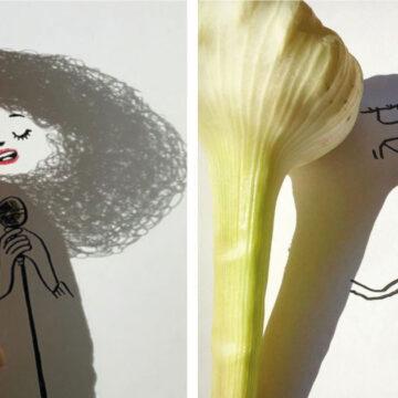 24 ilustraciones que utilizan sombras para darle vida y crear divertidas escenas