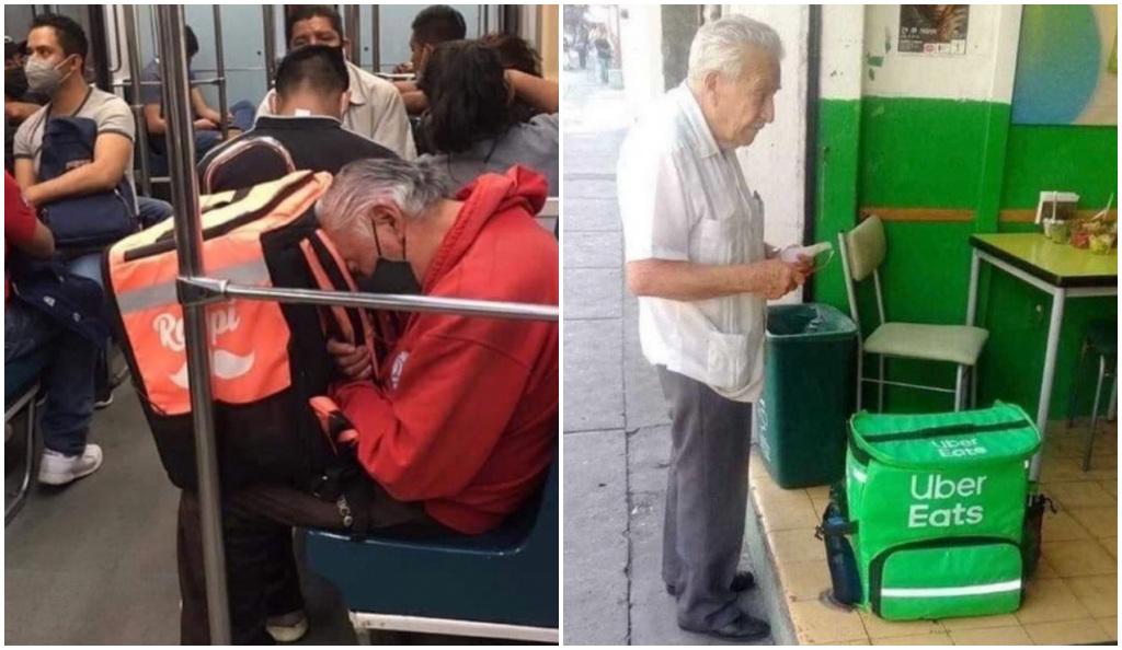 Repartidor se queda dormido en el autobús luego de un día agotador y desencadena un sin fin de buenas acciones
