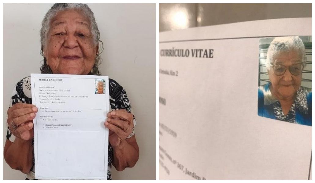 No quiere seguir dependiendo económicamente de su hija y a sus 101 años decide entregar currículo en una empresa