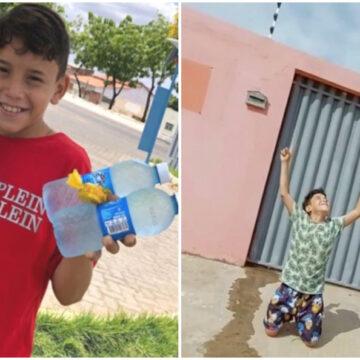 Niño logra comprar una casa para su familia y los salva de la miseria