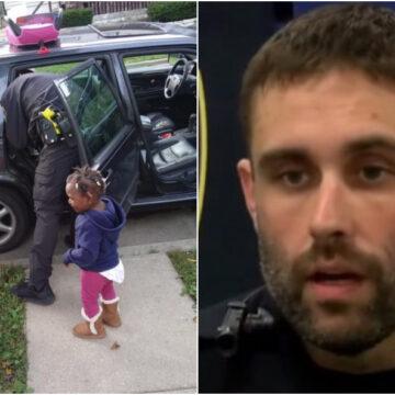 Policía decide no multarla por no tener las sillas de carros para los niños y a cambio le entrega un inesperado regalo