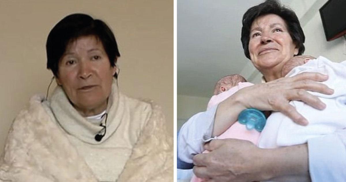 A sus 64 años tuvo mellizos y las autoridades la inhabilitan como madre. Está preocupada.