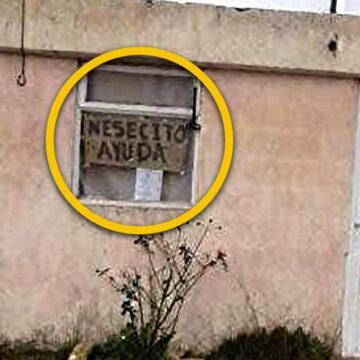 Una familia pega un cartel alarmante suplicando ayuda y reciben una enorme sorpresa