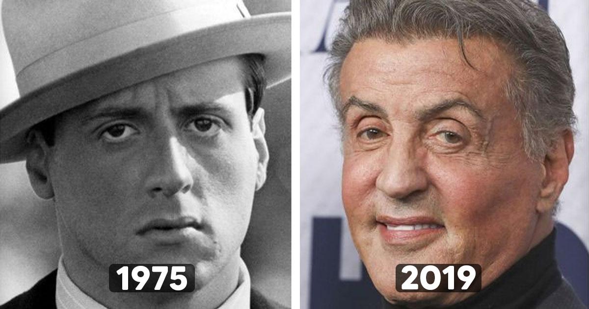 Así lucían estos 20 famosos a sus 20 años y hoy cambiaron completamente