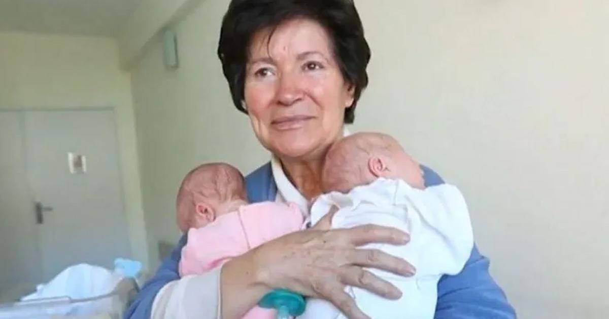 """Pudo ser madre a sus 64 años y le quitaron la custodia de sus hijos por """"No ser apta"""""""