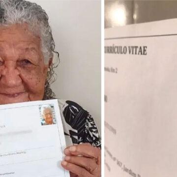 """""""Quiero trabajar"""" – Un jefe se emociona al recibir currículum de una abuela de 101 años"""